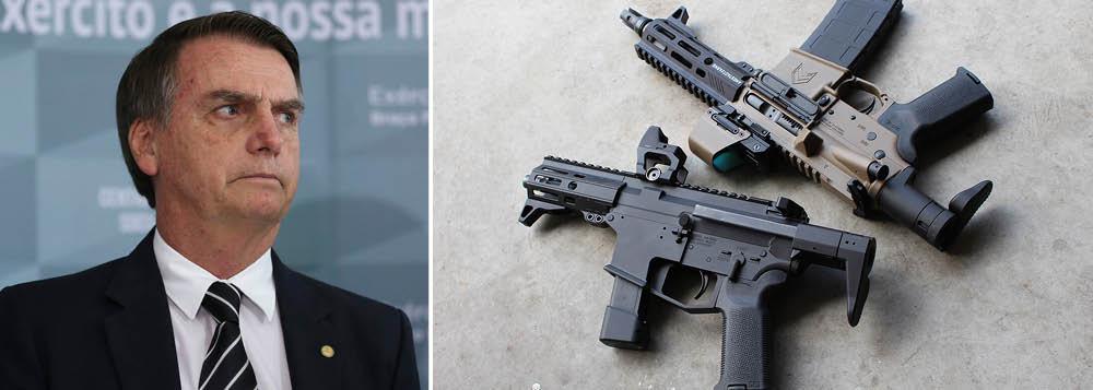 Bolsonaro quer fazer do Brasil um imenso clube de tiro