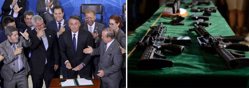Fernando Brito: Bolsonaro começa a armar suas milícias