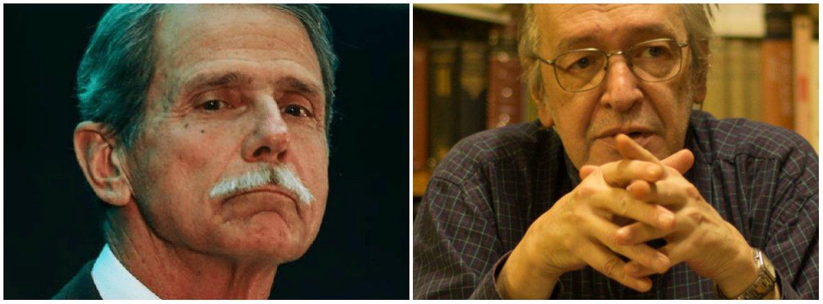 General diz que Olavo, guru de Bolsonaro, caga pela boca