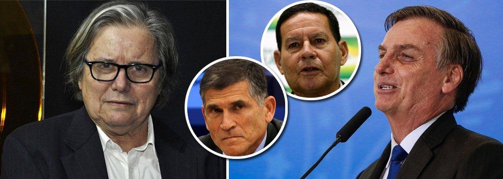 PML: Bolsonaro dá tapa na cara e fere dignidade dos militares