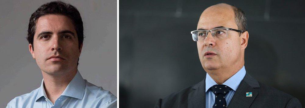 Mello Franco: Witzel, o governador que queria ser Chuck Norris