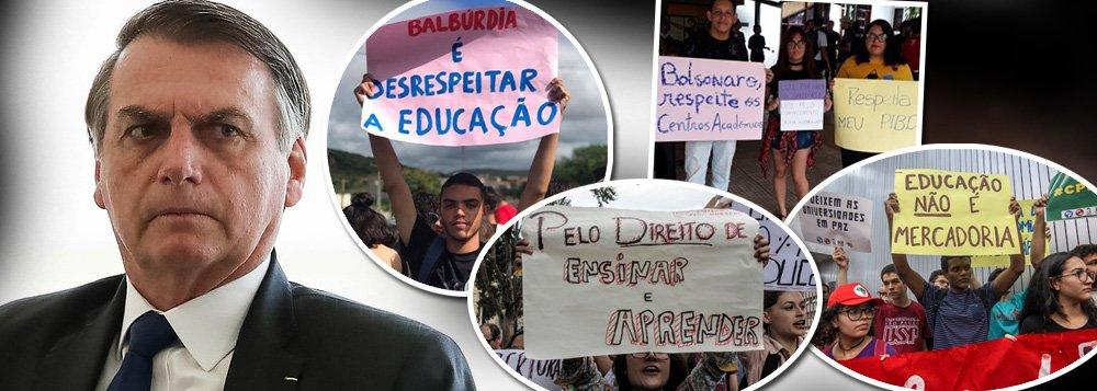 Sinal de vida: Brasil sai do estado de coma com protestos estudantis contra Bolsonaro