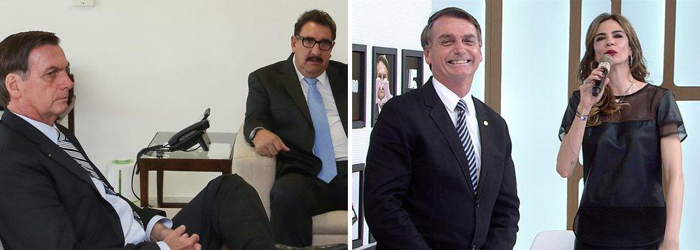 Luciana Gimenez e Ratinho serão pagos para defender reforma da Previdência