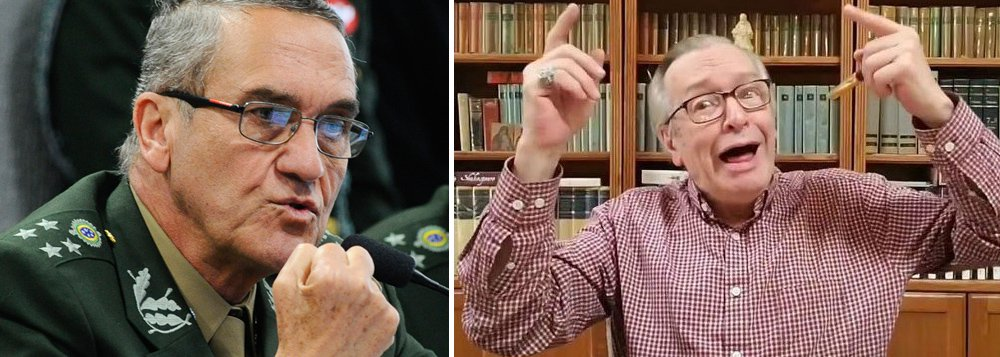 General Villas-Bôas declara guerra a Olavo: 'Trotski de direita'