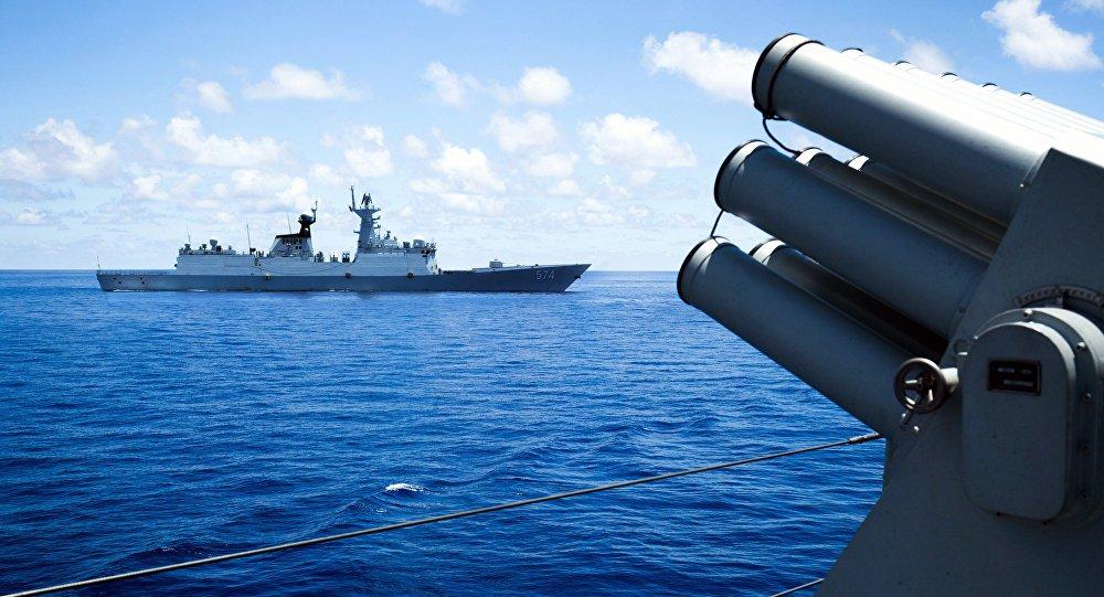 Em contencioso militar, Pequim denuncia presença de navios de guerra dos EUA no Mar da China