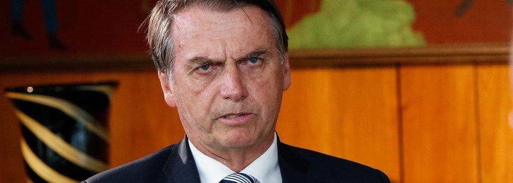 Bolsonaro rejeita regulamentação da mídia no Brasil