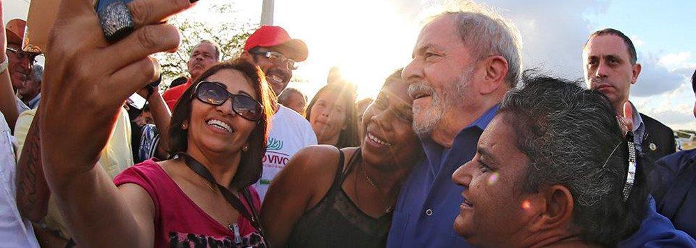 """Coletivo O Brado quis homenagem """"Personalidade do Ano"""" para Lula em NY"""