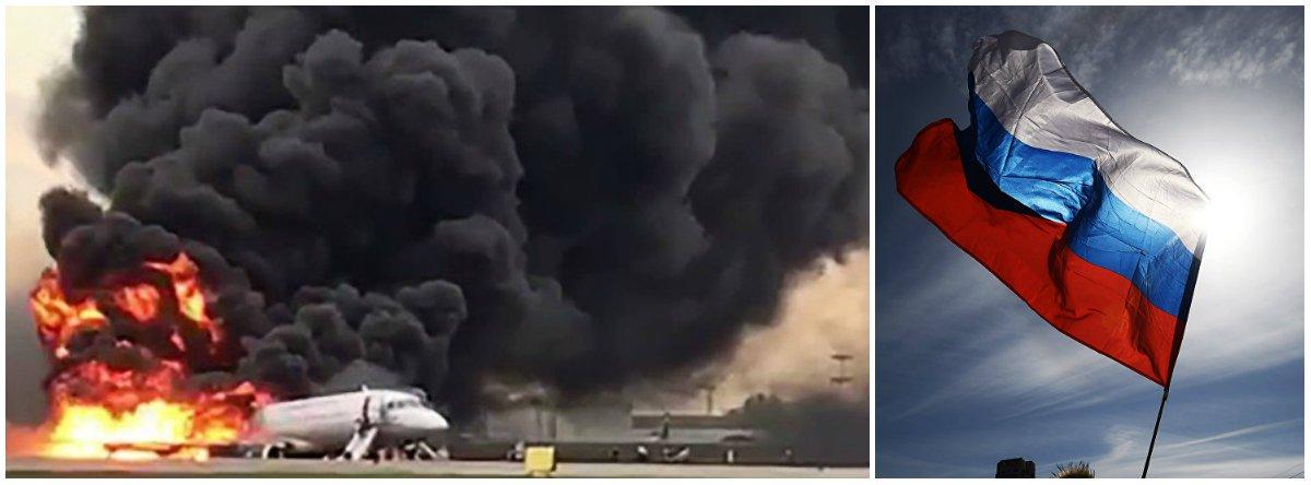 Mais de 40 morrem após avião fazer pouso de emergência na Rússia