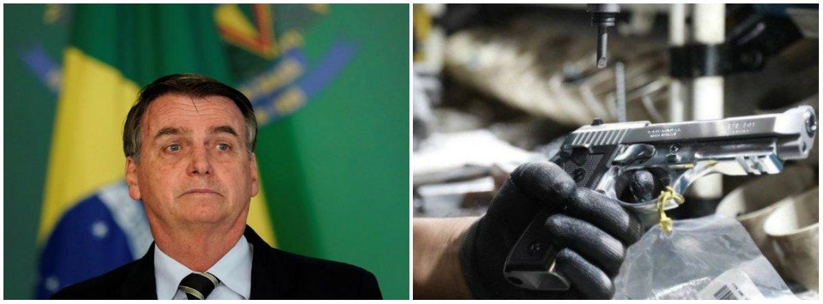 Bolsonaro: atirador poderá transportar arma carregada para clubes de tiro