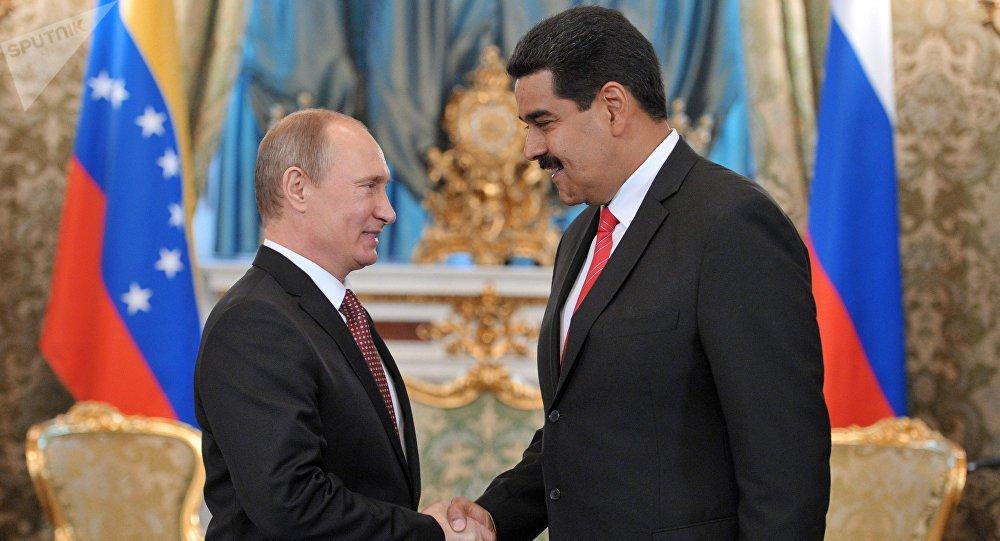 Rússia e Venezuela fortalecem aliança