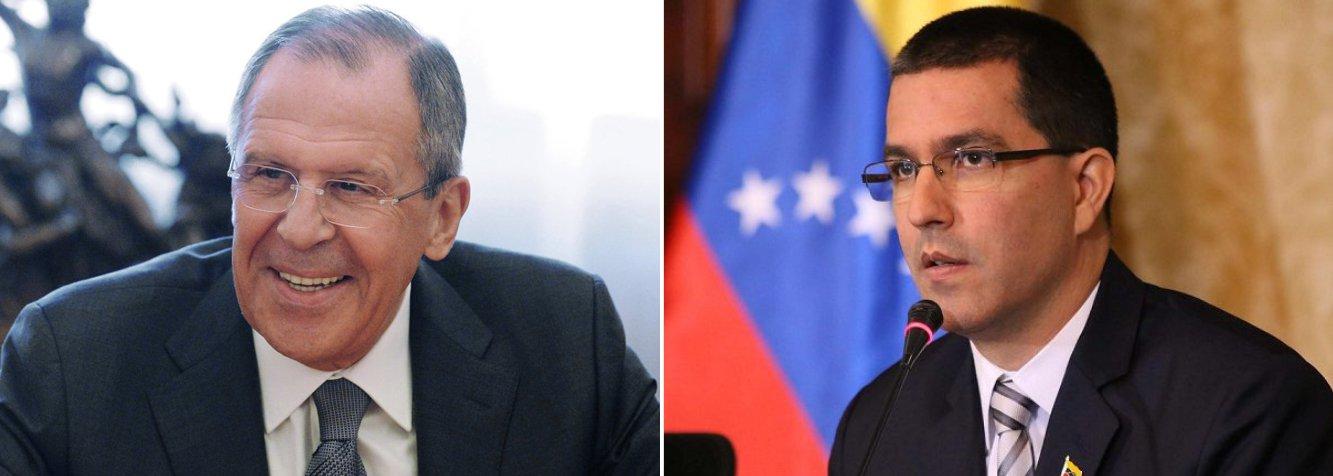 Rússia e Venezuela farão reunião de chanceleres neste domingo