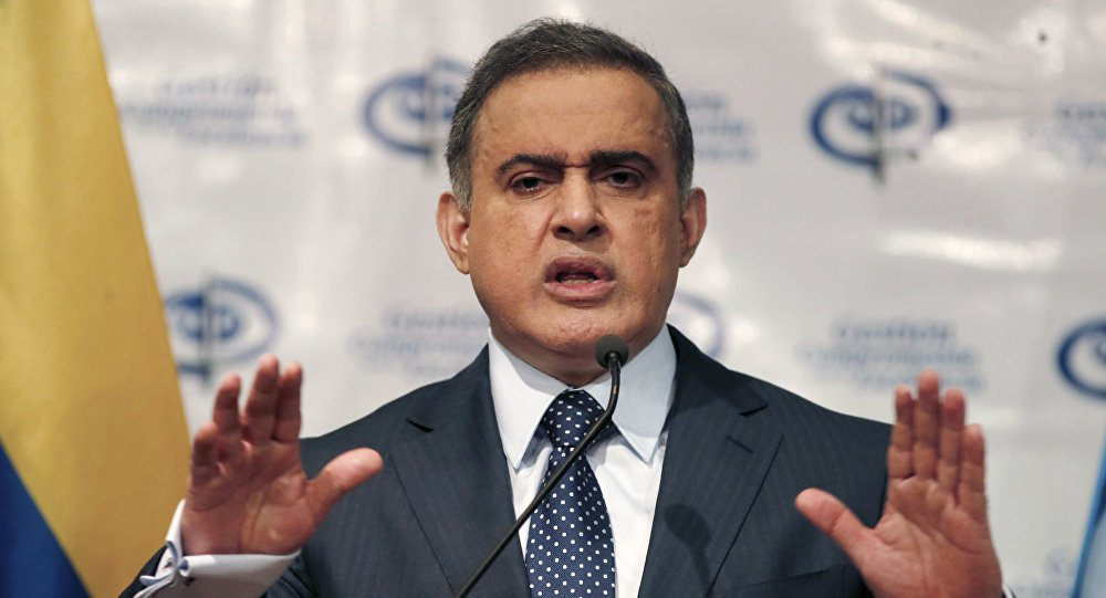 Venezuela vai agir com peso contra golpistas, diz procurador geral