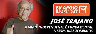 José Trajano apoia o 247: a mídia independente é fundamental nesses dias sombrios