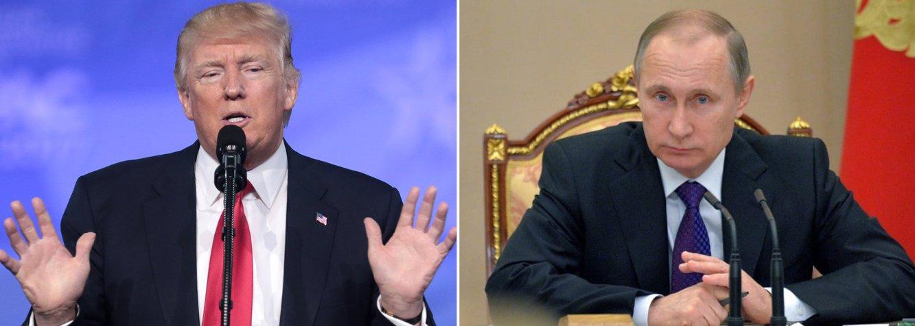 Trump e Putin tratam da Venezuela e novo acordo nuclear por telefone
