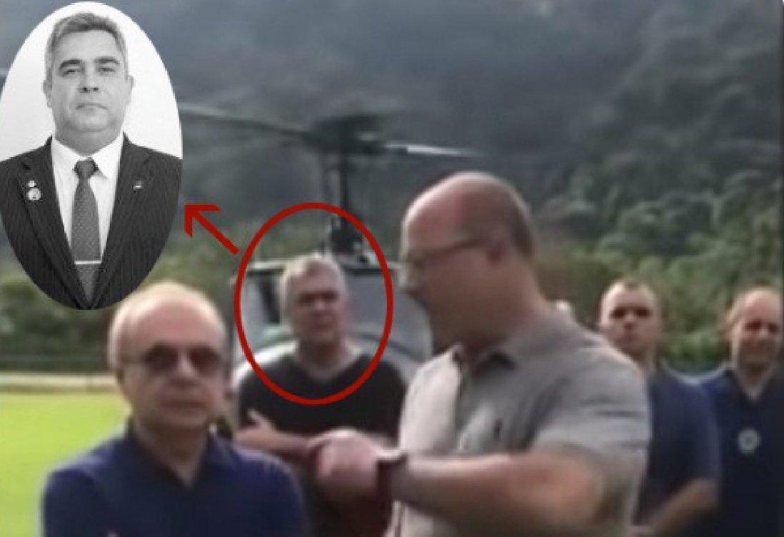 Vereador apontado como miliciano estava com Witzel na operação de Angra