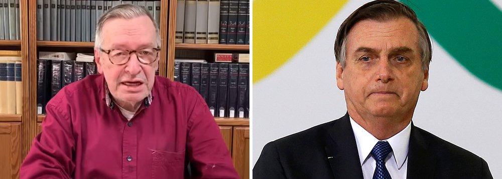 Bolsonaro defende 'direito de expressão' de seu guru no ataque a generais