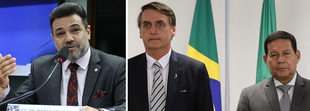 Bolsonaro nomeia como interlocutor deputado que pediu impeachment de Mourão