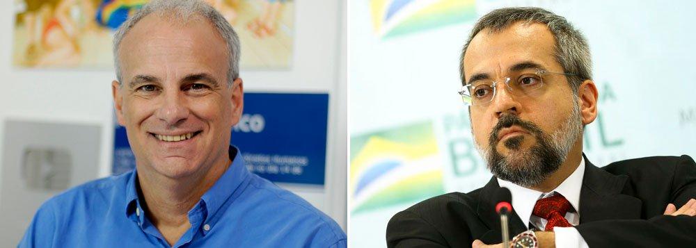 Alberto Carlos Almeida publica histórico escolar do ministro da Educação