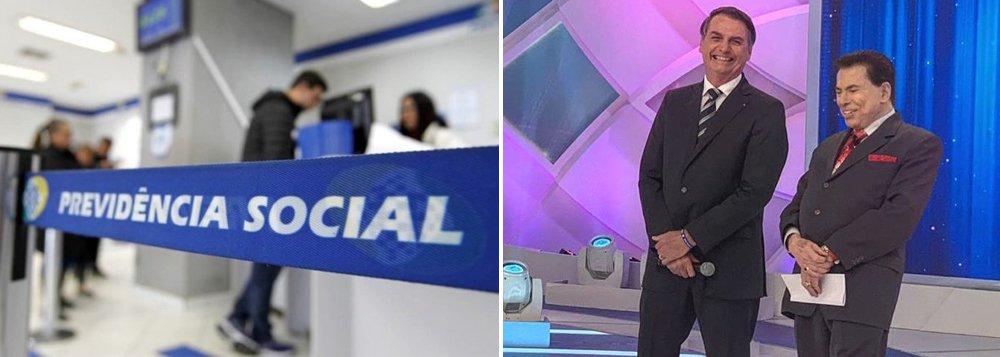 Silvio Santos vende apoio ao fim da Previdência