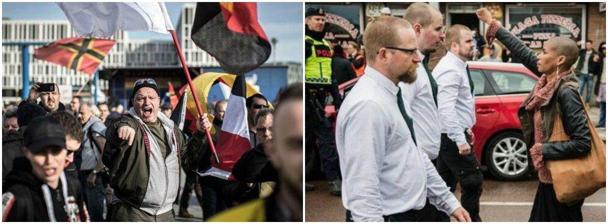 """""""O ódio é sempre local"""": a cidade sueca que disse """"não"""" aos neonazistas"""