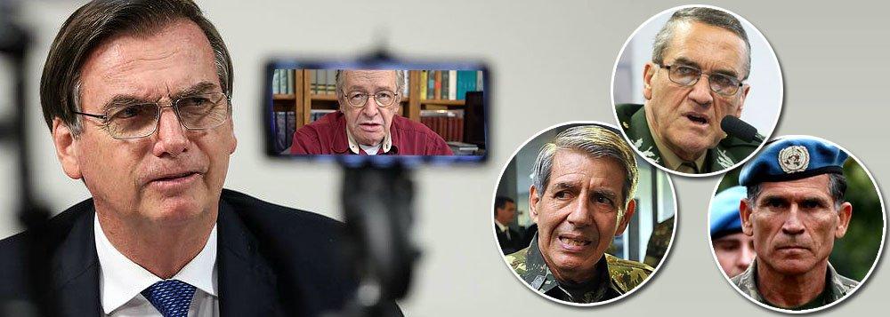 Bolsonaro deixou militares calados e humilhados