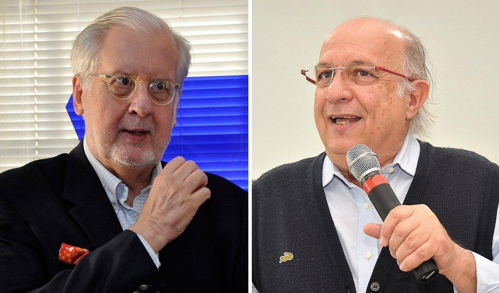 Lula recebe visitas de Paulo Sérgio Pinheiro e Paulo Vannuchi
