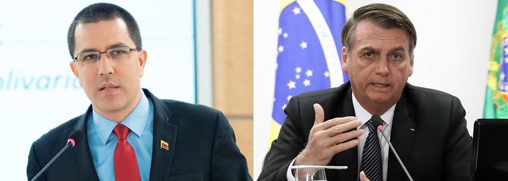 Chanceler venezuelano: Bolsonaro aposta no golpe e na violência