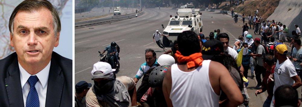 Bolsonaro doido para invadir a Venezuela. Os generais deixarão?