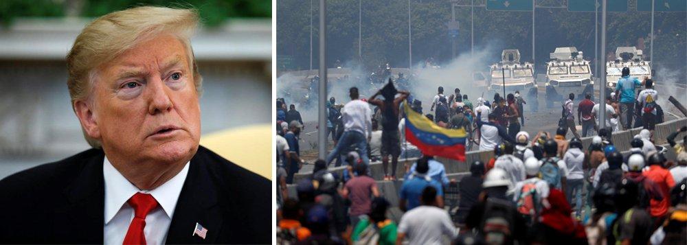 EUA ameaçam atacar Venezuela e impor sanções em grau máximo a Cuba