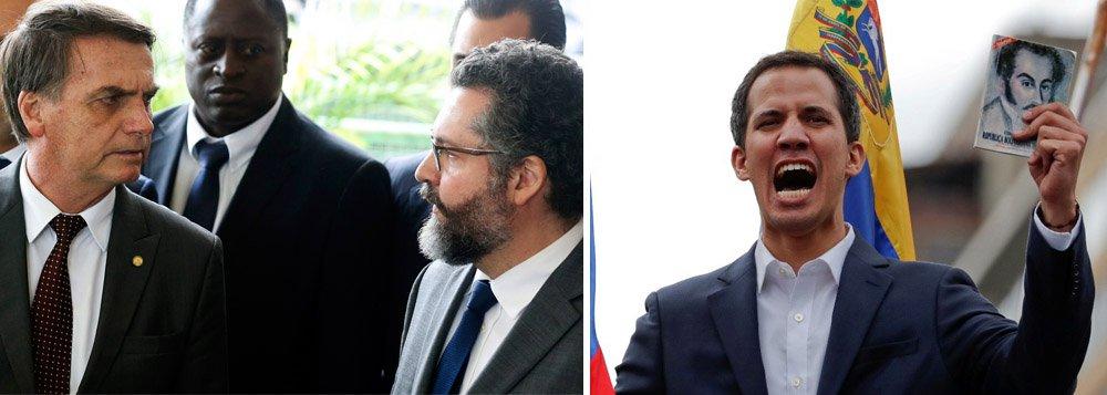 Bolsonaro chama reunião de emergência para apoiar golpe na Venezuela