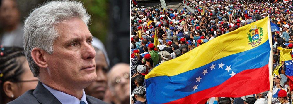 Cuba repudia movimento golpista na Venezuela