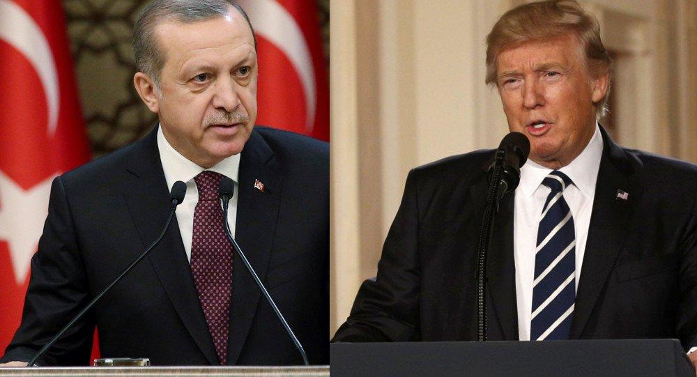 Trump e Erdogan discutem compra pela Turquia de sistema russo S-400