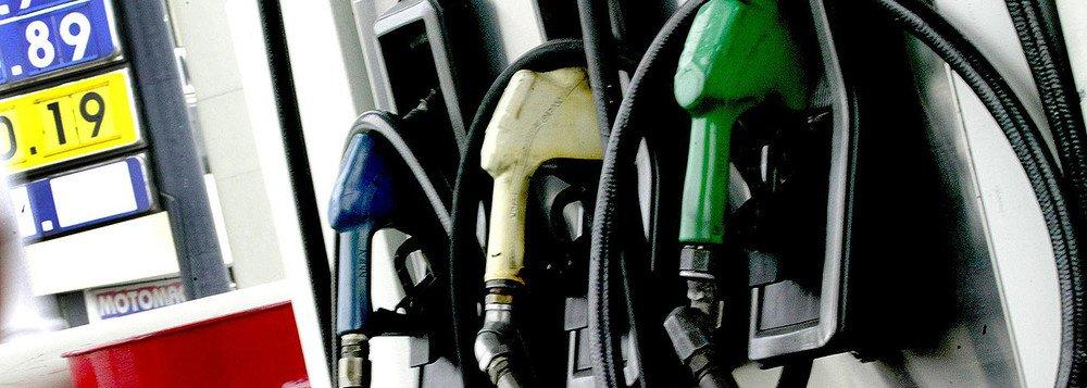 Gasolina não para de aumentar e valor é o maior em 6 meses
