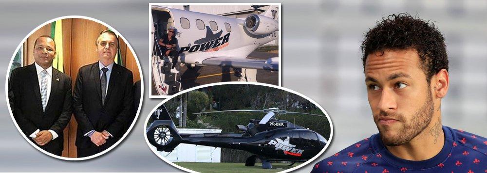 Aparece motivo de encontro do pai de Neymar com Bolsonaro e Guedes: a 'boquinha' das aeronaves
