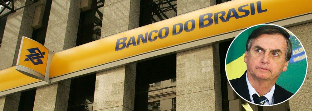 Bolsonaro cobra juros mais baixos e ações do BB despencam na bolsa