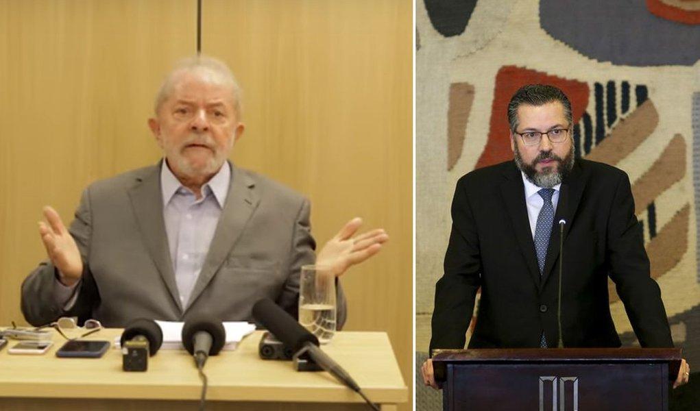 Lula: esse chanceler que está aí foi encomendado