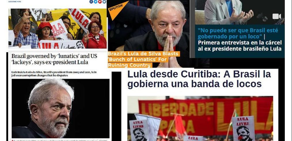 'Brasil governado por loucos': imprensa internacional repercute entrevista de Lula