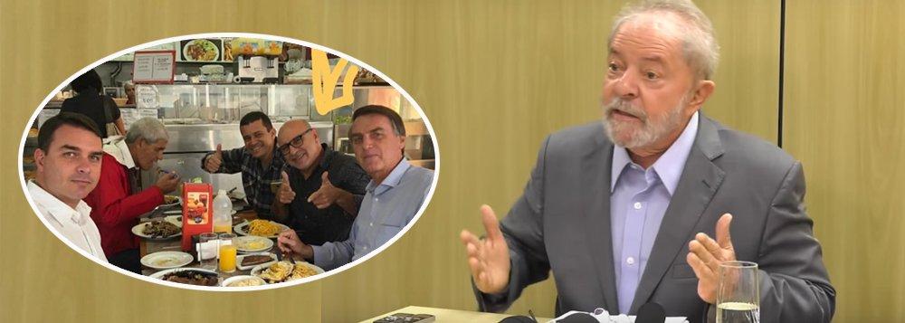 """""""Cadê o Queiroz"""", questiona Lula"""