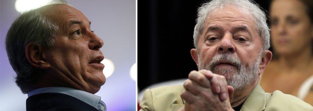 Lula diz que Ciro faz mal a si próprio e se diz pronto para recebê-lo