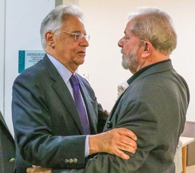 """""""FHC deveria ter um papel mais respeitoso com ele mesmo"""", diz Lula"""