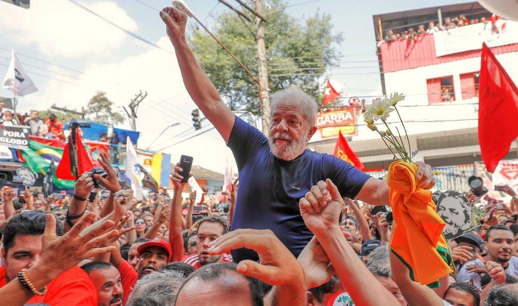 Lula, as duas metades do copo e a masmorra de Curitiba