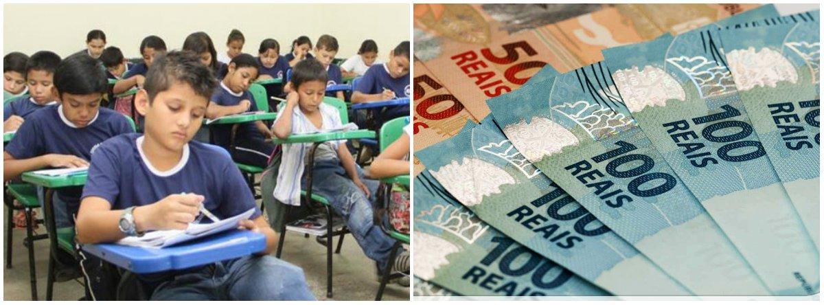 Elites reduziram investimento em educação em 56% desde o golpe