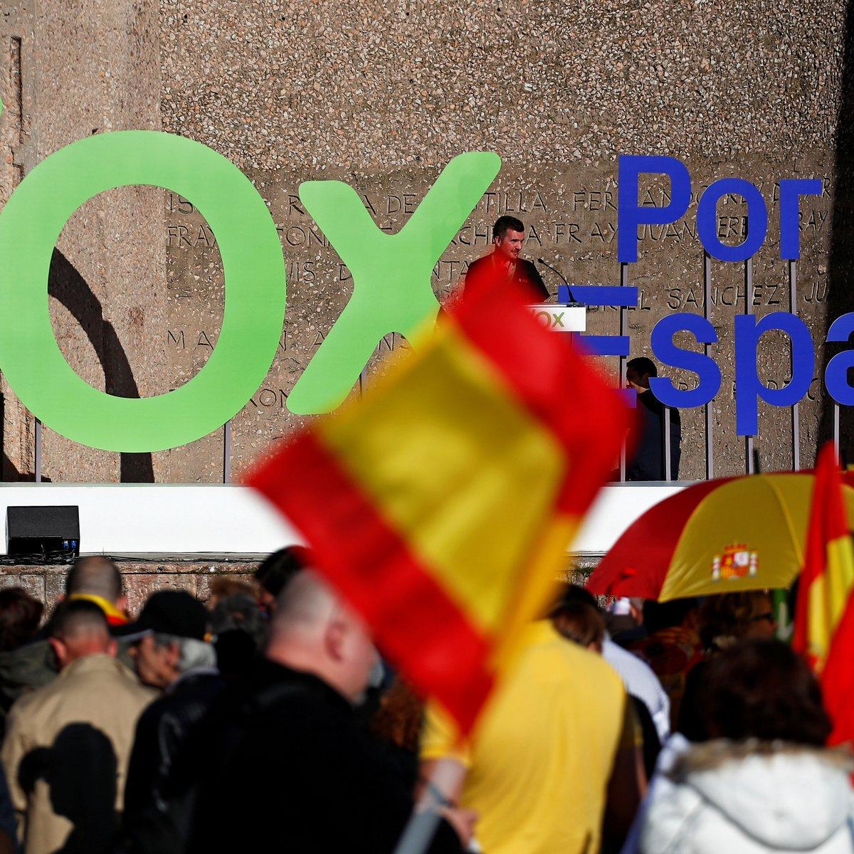 Partido de extrema-direita Vox desperta rumores de oscilação no eleitorado espanhol