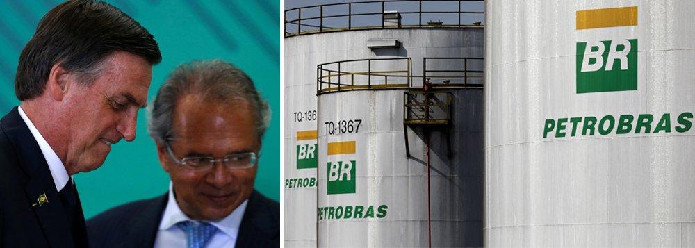 Apesar dos sinais, Guedes diz que 'por enquanto' não planeja privatizar a Petrobrás