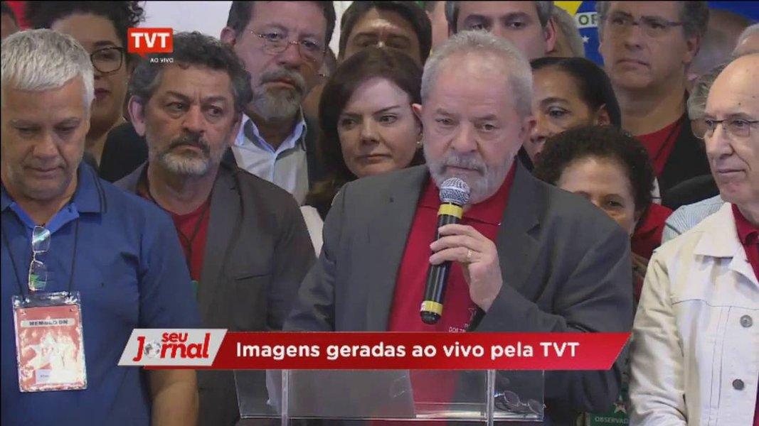 STF autoriza TVT a entrevistar Lula em Curitiba