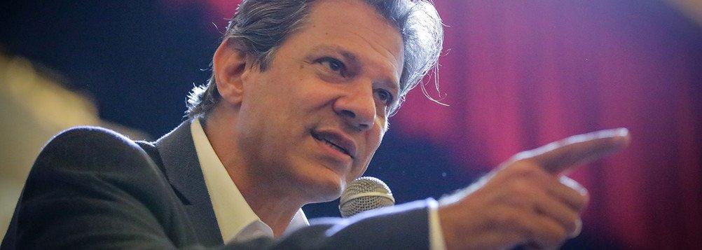 Haddad: militares entraram numa fria ao avalizar Bolsonaro