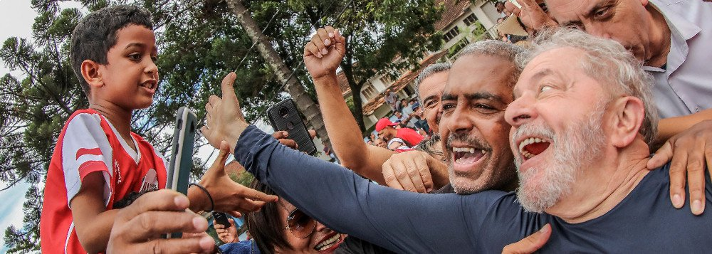 Lula permanece o grande líder brasileiro