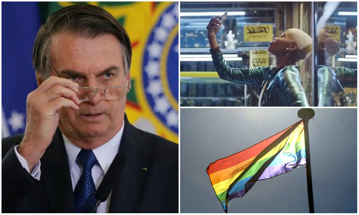 Bolsonaro cospe chorume na pluralidade