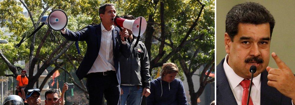 Guaidó convoca novos protestos contra Maduro para dar um golpe