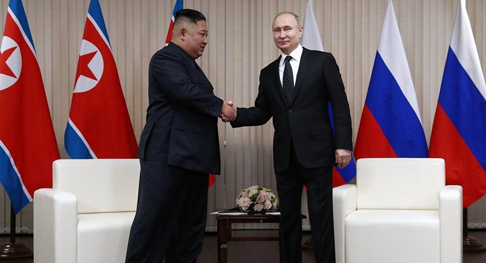 Kim Jong Un encerra visita à Rússia após reunião 'amistosa' com Putin